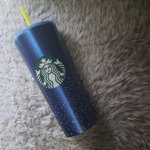 Starbucks Cobalt Blue Dory Stainless Steel Tumbler